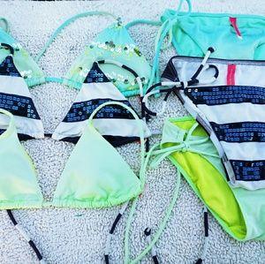 3 xsmall Victoria secret swimsuits